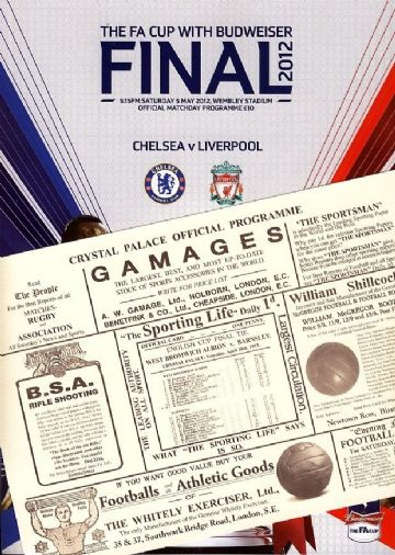 2012 FA Cup Final Liverpool v Chelsea with an EXCLUSIVE extra!